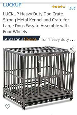 LUCKUP Heavy Duty Dog Crate for Sale in Lake Worth, FL