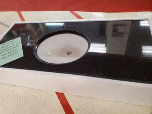 """49"""" black granite vanity for Sale in Lima, OH"""