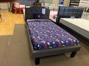 Twin size platform bed frame with Mattress included for Sale in Glendale, AZ