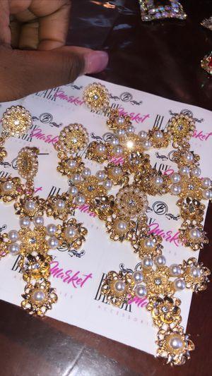Diamond Cross Earrings for Sale in Philadelphia, PA
