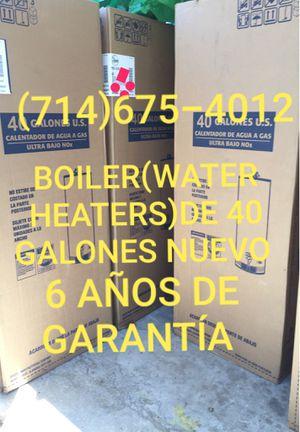 BOILER(WATER HEATERS)DE 40 GALONES NUEVO DE LA MARCA RHEEM!!! for Sale in Santa Ana, CA