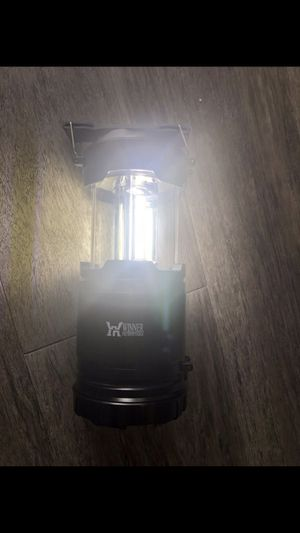 Camping 2-in-1 LED lantern + flashlight for Sale in Tampa, FL