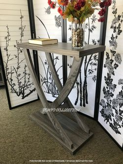 NEW IN THE BOX. Entry Hall Console Table Distressed Grey, SKU#161864 for Sale in Westminster,  CA