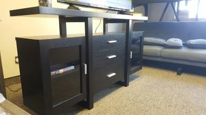 Alex Buffet/TV Stand Black up to 70in TVs for Sale in Santa Ana, CA