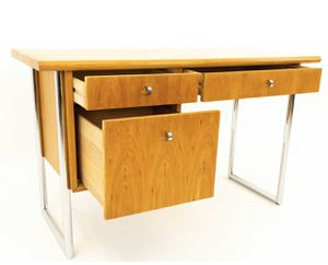 Solid wood mid-century modern all wood desk for Sale in Reston, VA