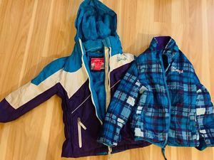 Girls winter snow jacket Small 7/8 for Sale in Gresham, OR