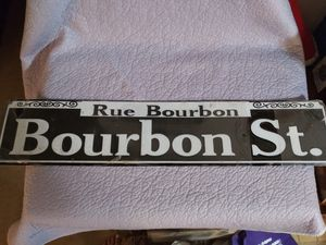 Bourbon Street sign for Sale in Spring Valley, CA