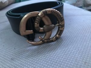 Gucci belt size go up to 40 for Sale in Mount Holly, NJ