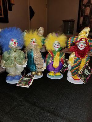 Porcelain clowns for Sale in Santa Clarita, CA