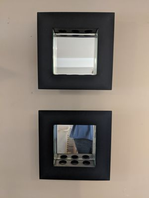 2 Shadow Box Style Hanging Mirrors for Sale in Salt Lake City, UT