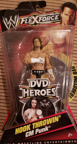 New WWE CM PUNK Action Figure. for Sale in Orlando, FL