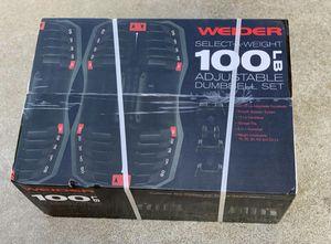 Weider Adjustable Dumbbells for Sale in Sunnyvale, CA