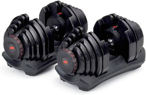 BOWFLEX DUMBBELLS 1090 AND STAND $325 NEW NEW!! for Sale in Belleair, FL