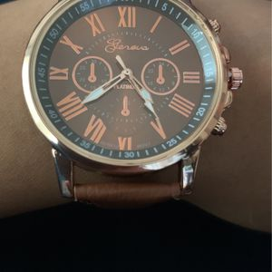 Chocolate Brown Quartz Watch for Sale in Pasadena, CA