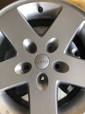 "5 Jeep 17"" wheels in mint condition ($50 total all 5) for Sale in St. Cloud, FL"