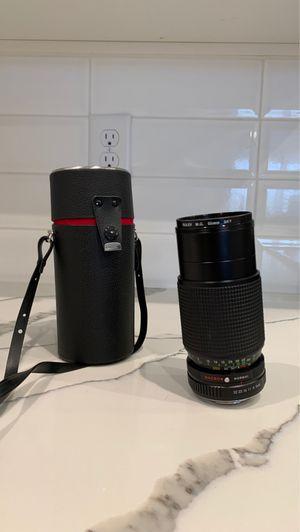 Commander 80-200mm 1:4.5 MC Auto Zoom Macro Lens for Sale in Henderson, NV