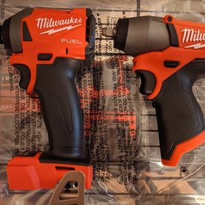 "Milwaukee M12 3/8"" Impact Wrench & M18 1/4"" Impact Driver (Tool Only) for Sale in Phoenix, AZ"