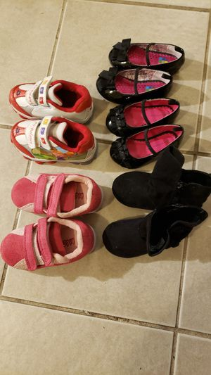 Toddler girl shoes 20 dollars for all for Sale in Takoma Park, MD