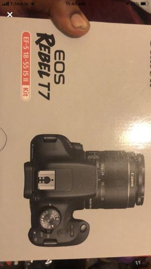 Canon T7i for Sale in Philadelphia, PA