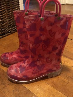 Girls Rain boots!! for Sale in OH,  US