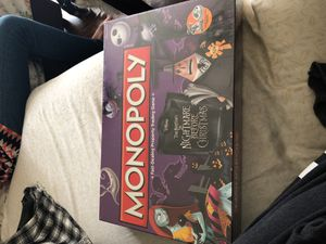 Nightmare Before Christmas Monopoly for Sale in Bronx, NY