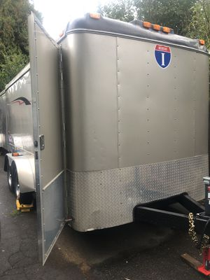 "2008 interstate Pro-Series enclosed trailer 7x14x6'10"" height for Sale in West Linn, OR"