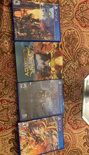 5 PlayStation 4 games for Sale in Pine Hill, NJ