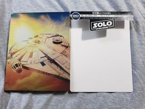 Solo A Star Wars Story 4K steelbook for Sale in Bellflower, CA