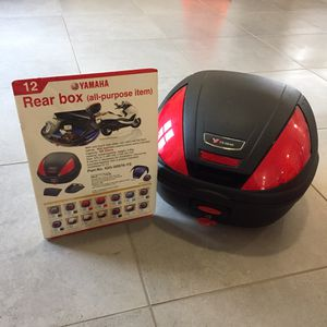 Brand New Yamaha Vino Motorcycle/Scooter Trunk for Sale in Pompano Beach, FL