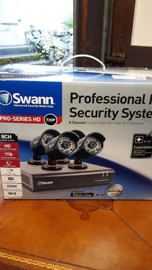 Swann security system for Sale in Tacoma, WA
