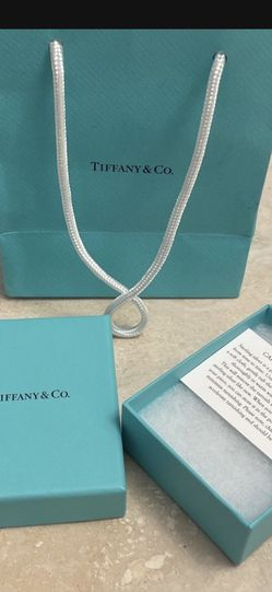 Tiffany & Co. Jewelry Box And Gift Bag Authentic for Sale in Redondo Beach,  CA