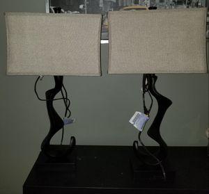 2x Freeform lamps for Sale in Atlanta, GA