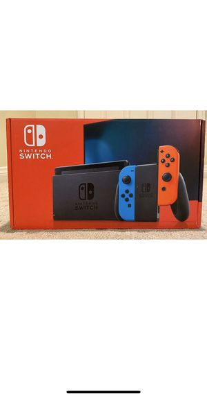 Nintendo switch red and blue for Sale in Springfield, VA