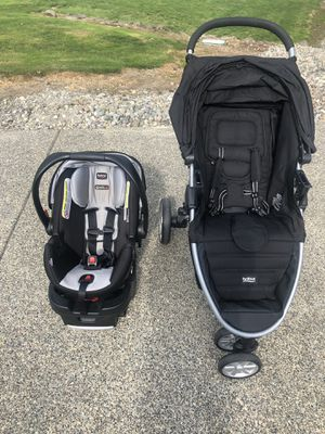 Britax B-Agile Car seat and Stroller for Sale in Lake Tapps, WA