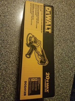 Dewalt grinder 20v for Sale in Manassas, VA