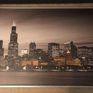 Chicago Skyline for Sale in Richmond, VA