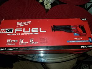 Milwaukee Fuel Brushless (ONE KEY)BLUETOOTH SAWZALL ONLY TOOL BRAND NEW IN BOX for Sale in Winter Springs, FL