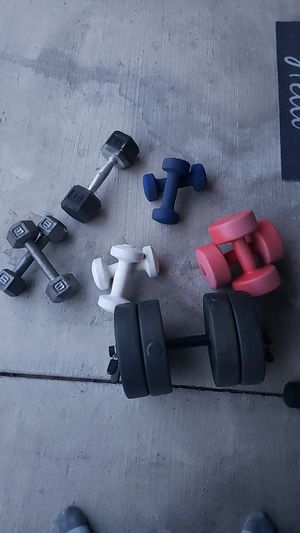 Various weights for Sale in Coppell, TX
