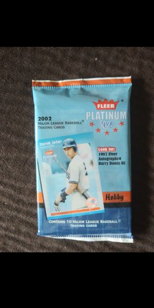 Unopened baseball card pack. for Sale in Kenmore, WA