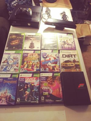 XBOX 360 WITH KINECT FOR SALE for Sale in Pasco, WA