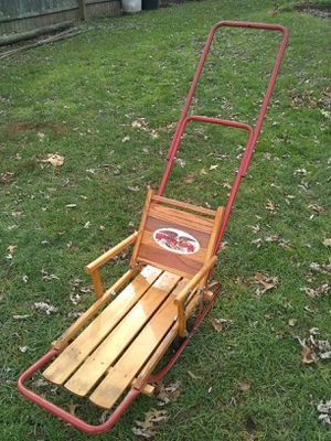 Antique flexible flyer child's sled for Sale in Newington, CT