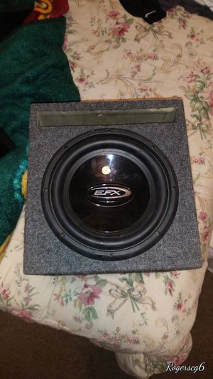 Efx sub 10' for Sale in Fresno, CA