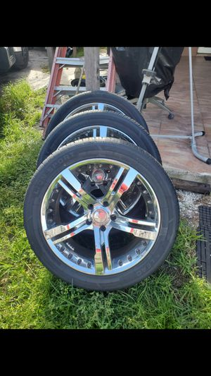 Set of rims size 265/45 R20 for Sale in Homestead, FL