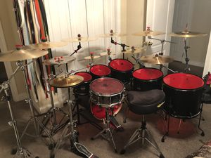 Mapex NIGHTWOOD 7pc Birchwood Drum Set for Sale in Knoxville, TN