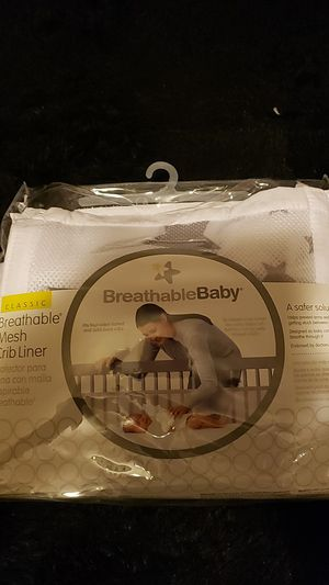 Breathable Baby Mesh Crib Liner for Sale in Las Vegas, NV
