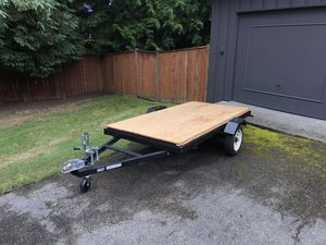 4' by 8' utility trailer for Sale in Kenmore, WA