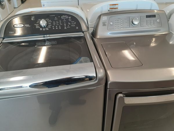 Whirlpool washer and electric dryer Kenmore good condition with 90 days warranty