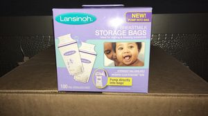 Lansinoh breast milk storage bags for Sale in Brooklyn, NY