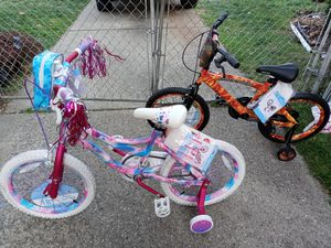1 boy bike and 1 girl bike. Tags are still on. Never riden. for Sale in Detroit, MI