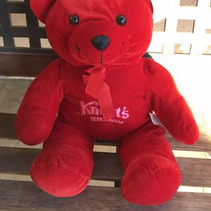 Knott's Berry Farm Cherry Red Plush Teddy for Sale in Ontario, CA